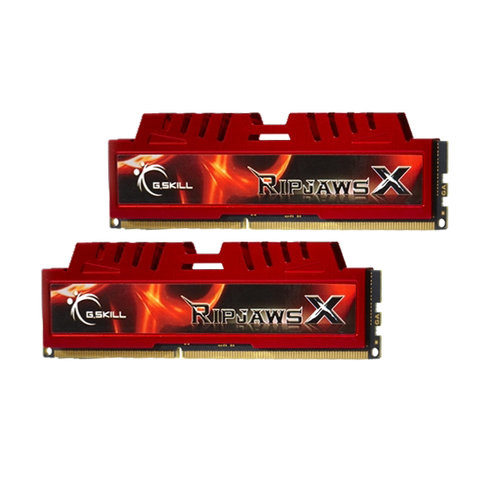 DDR3-1600 8GB Dual Channel [RipjawsX] F3-12800CL9D-8GBXL