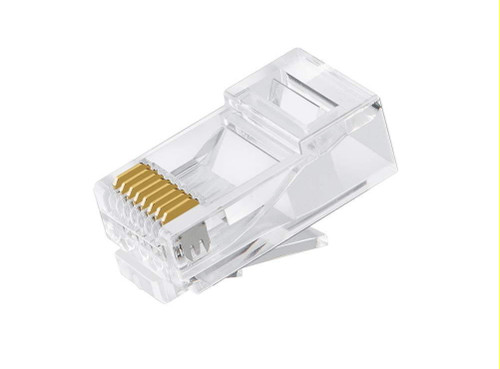 Astrotek CAT6 UTP -RJ45 Connector 8P8C Network Plug 3 Prong Blade 3U'