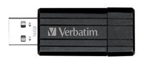 Verbatim Store'n'Go Pinstripe USB Drive 16GB (Black)