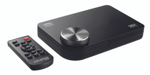 Sound Card: Sound Blaster X-Fi Surround 5.1 Pro, USB Sound Card