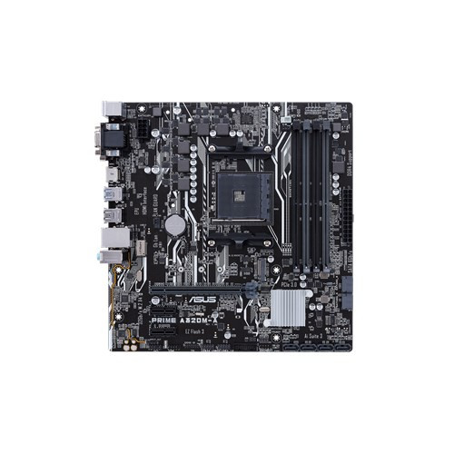 ASUS AMD AM4 uATX Motherboard, LED lighting, DDR4 3200 MHz, 32Gb/s M.2