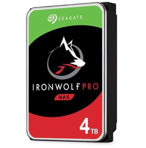 Seagate 4TB 3.5' IronWolf Pro NAS  SATA3 NAS 24x7 Performance HDD (ST4