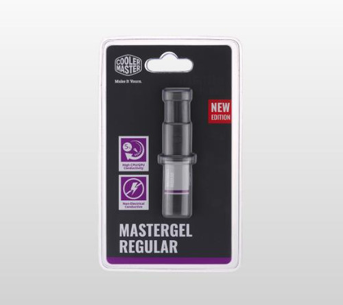 MASTERGEL REGULAR, THERMAL GREASE Compound, 1.5ML, NEW FLAT-NOZZLE DES