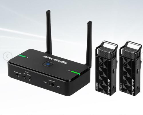 Avermedia Wireless Teacher Microphone AW315 Dual Mic with Smart Pair