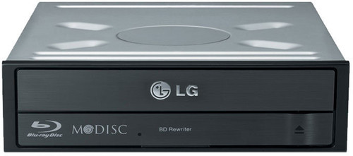 LG BH16NS55 16x SATA Internal Blu-Ray Drive Burner - Slient Jamless Pl