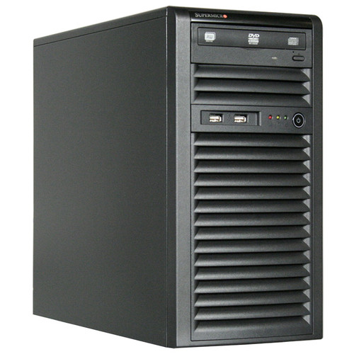 SuperMicro SuperChassis 731i-300B, Mini Tower, Suits Micro ATX MB, 2 x