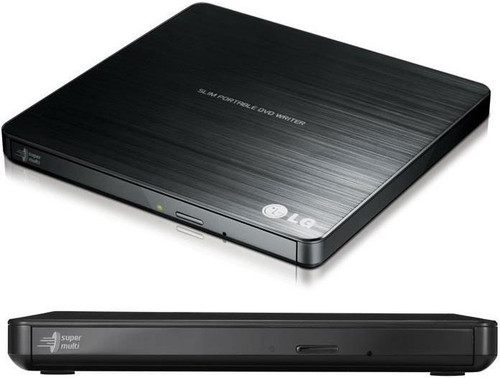 LG GP60NB50 8x Ultra Slim Portable External USB DVD Drive Burner - M D