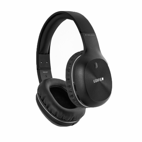 Edifier W800BT Bluetooth Over the Ear Wireless Headphone Black - Wirel