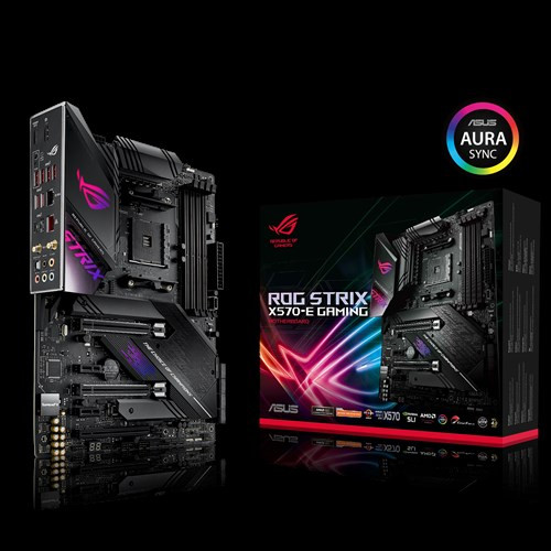ASUS ROG Strix X570-E GAMING AMD X570 ATX Gaming Motherboard with PCIe