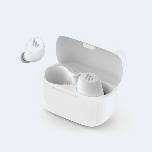 Edifier TWS1 Bluetooth Wireless Earbuds - WHITE/Dual BT Connectivity/W