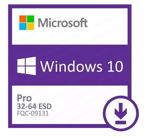 Microsoft Windows 10 Professional 32bit/64bit - Digital Download