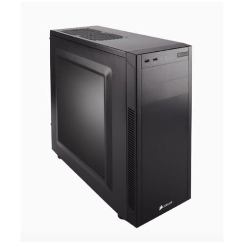 Corsair 100R. mATX, Mini-ITX, ATX. Side Window. Black 7x PCI Slots.  M
