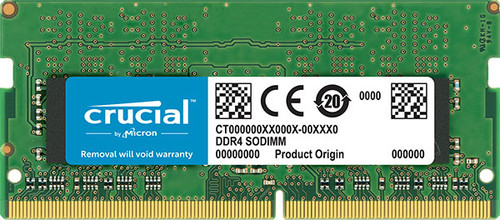Crucial 16GB (1x16GB) DDR4 SODIMM 2400MHz CL17 Single Stick Notebook L