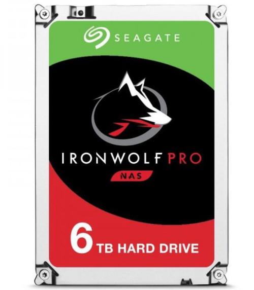 Seagate 6TB 3.5' IronWolf Pro NAS ST6000NE000 7200 RPM 256MB Cache SAT
