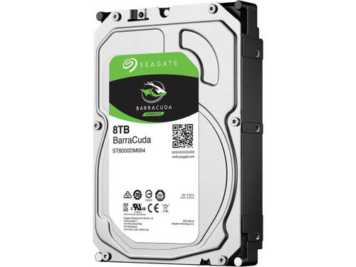 Seagate 8TB 3.5' Barracuda, 5400RPM SATA3 6Gb/s 256MB Cache HDD. 2 Yea