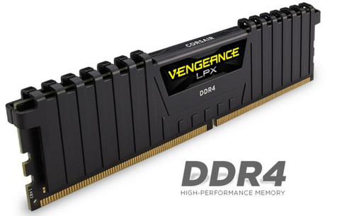 Corsair Vengeance LPX 8GB (1x8GB) DDR4 2666MHz C16 Desktop Gaming Memo