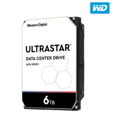WD 6TB Ultrastar Enterprise, 3.5' SATA, 512E SE, DC HC310, 256MB, 7200