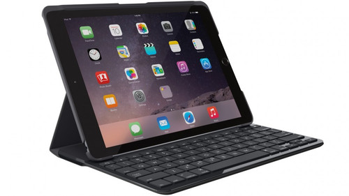 Logitech Slim Folio Case Cover with Bluetooth Keyboard for iPad 9.7' 2