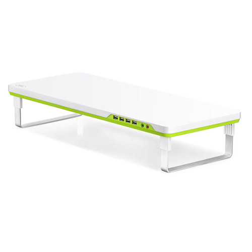 Deepcool M-Desk F1 Ergonomic Monitor Stand Up To 27' & 10kg W/ Audio