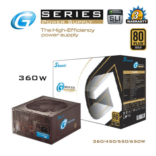 SeaSonic 360W G-Series PSU (SSR-360GP)