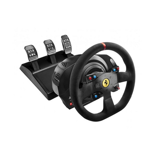 T300 Ferrari Integral Racing Wheel Alcantara Edition For PS3, PS4 & PC