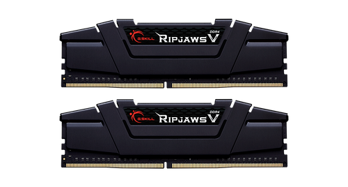 Dual Channel: 32GB (2x16GB) [Ripjaws V] DDR4-3600MHz CL18-22-22-42 1.3