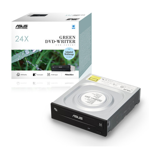 ASUS DRW-24D5MT Extreme Internal 24X DVD writing speed with M-Disc sup