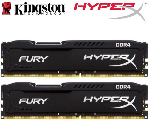 Kingston HyperX Fury 16GB (2x8GB) DDR4 UDIMM 2666MHz CL16 1.2V