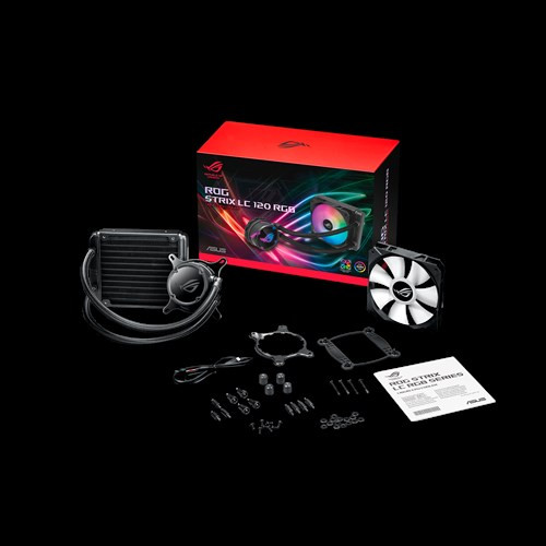 ASUS ROG Strix LC 120 RGB All-in-one Liquid CPU Cooler,Aura Sync
