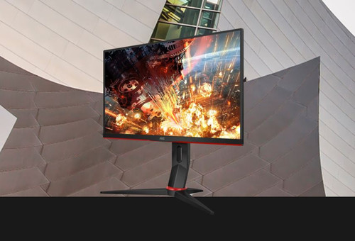 AOC 23.6' 1ms IPS 144Hz Full HD Free-Sync, 1x VGA, 2x HDMI 1.4, 1x DP