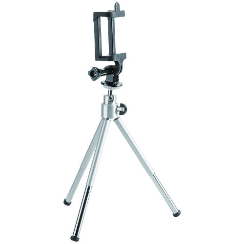 Brateck Mini Tripod for Digital Camera and Phones with GoPro Adapter