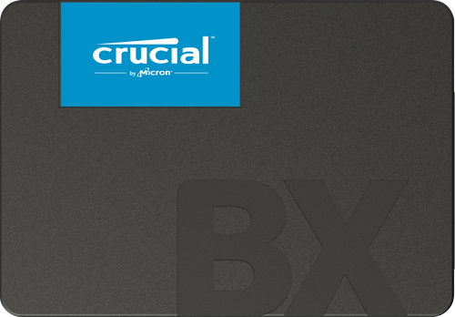Crucial BX500 2TB SATA 2.5-inch SSD - Read up to 540MB/s, Write up to