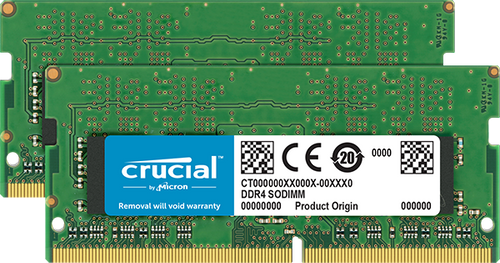 Crucial DDR4 SODIMM 32GB kit (2x16GB) 2400 MT/s (PC3-19200) CL17 260pi