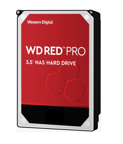 Western Digital WD Red 2TB Pro NAS 64MB Cache 3.5' 7200RPM SATA3 6Gb/s