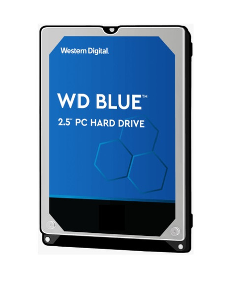 Western Digital WD Blue 2TB 2.5' SATA PC HDD 2.5' 5400RPM 6Gb/s 128MB