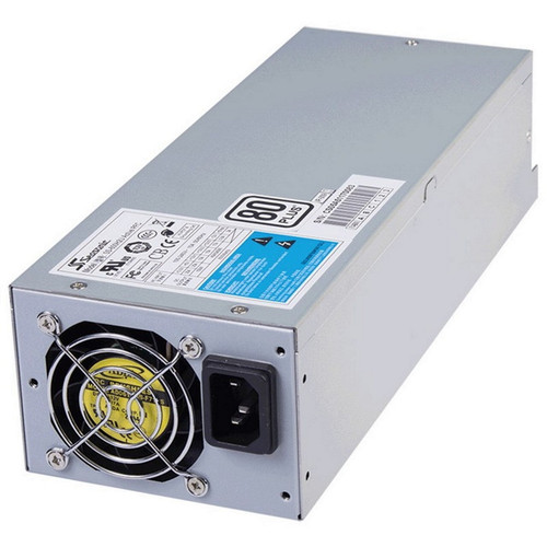 Seasonic 600w 2U Modular Power Supply, 80 Plus Certified, Over-voltage