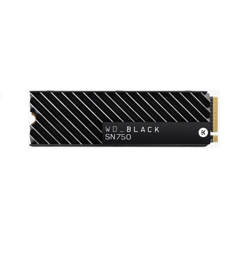 Western Digital WD Black 2TB NVMe SSD M.2. 2280 with Heatsink PCIe Gen