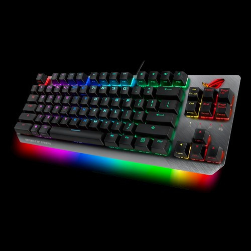 ASUS X802 STRIX SCOPE TKL/RD Wired Mechanical RGB Gaming Keyboard