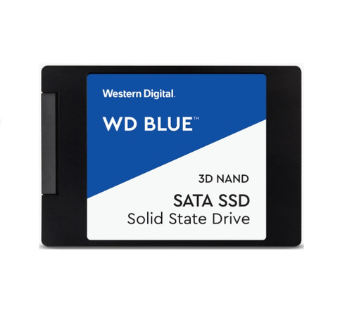 Western Digital WD Blue 4TB 2.5' SATA 3D NAND SSD Read 560GB/s Write