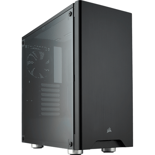 Mid-Tower Case: Carbide 275R, 2x USB 3.0, WINDOW SIDE PANEL, Supports: