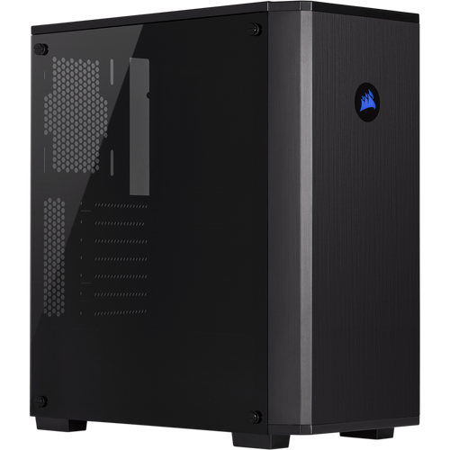 Mid-Tower Case: Carbide Series 175R RGB Tempered Glass, 2x USB 3.1 Typ