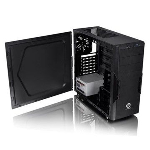 Mid Tower: Black Versa H22 with 500w PSU (USB3)