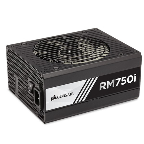 Corsair 750W RMi 80+ Gold Fully Modular w/Corsair Link 135mm FAN ATX PSU (LS)