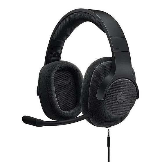 Logitech G433 7.1 Surround Sound Wired Gaming Headset - Black (LS)
