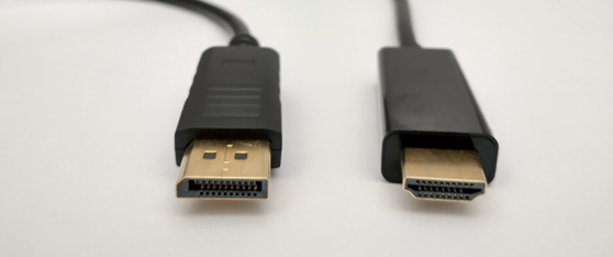 AKY DISPLAY PORT TO HDMI 4K BLACK CABLE - 5M M/M