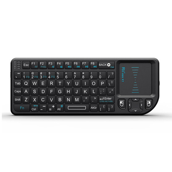 Rii Mini X1 Wireless Keyboard with touchpad mouse