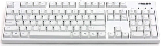 Filco MAJESTOUCH Convertible 2 Hakua White USB/BLUETOOTH Brown Switch Keyboard