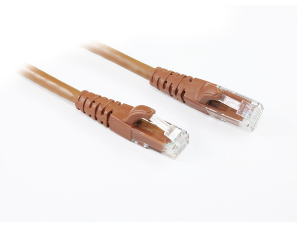 1M Brown CAT6 Cable