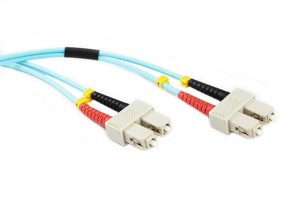 1M SC-SC OM4 50/125 Multimode Duplex Fibre Patch Cable