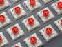 Majestouch Stingray Ninja 87 Low Profile Red switch mech KB